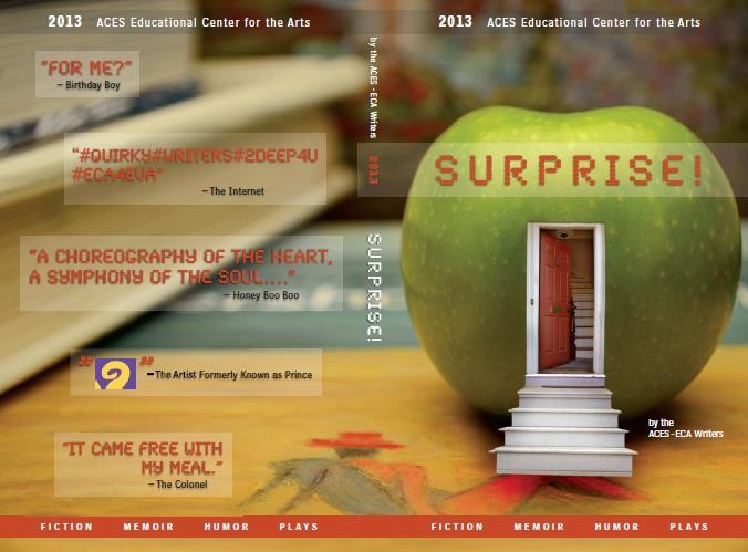 Surprise! 2013-14 ECA Writers Literary Magazine