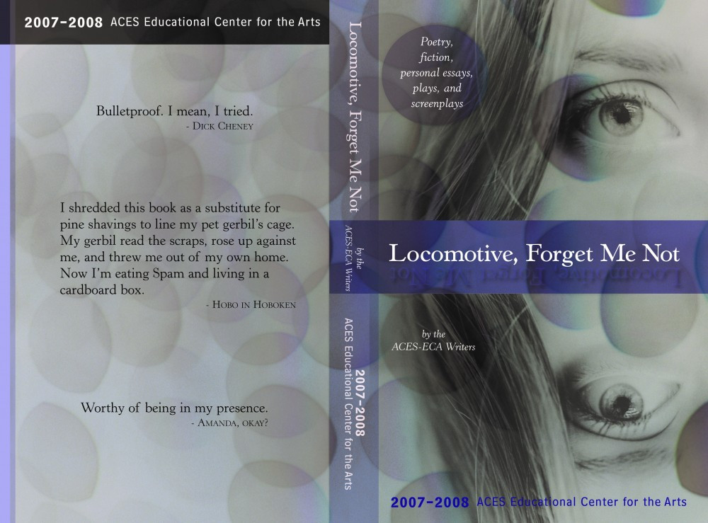 Locomotive, Forget Me Not 2007-08 ECA Writers Literary Magazine