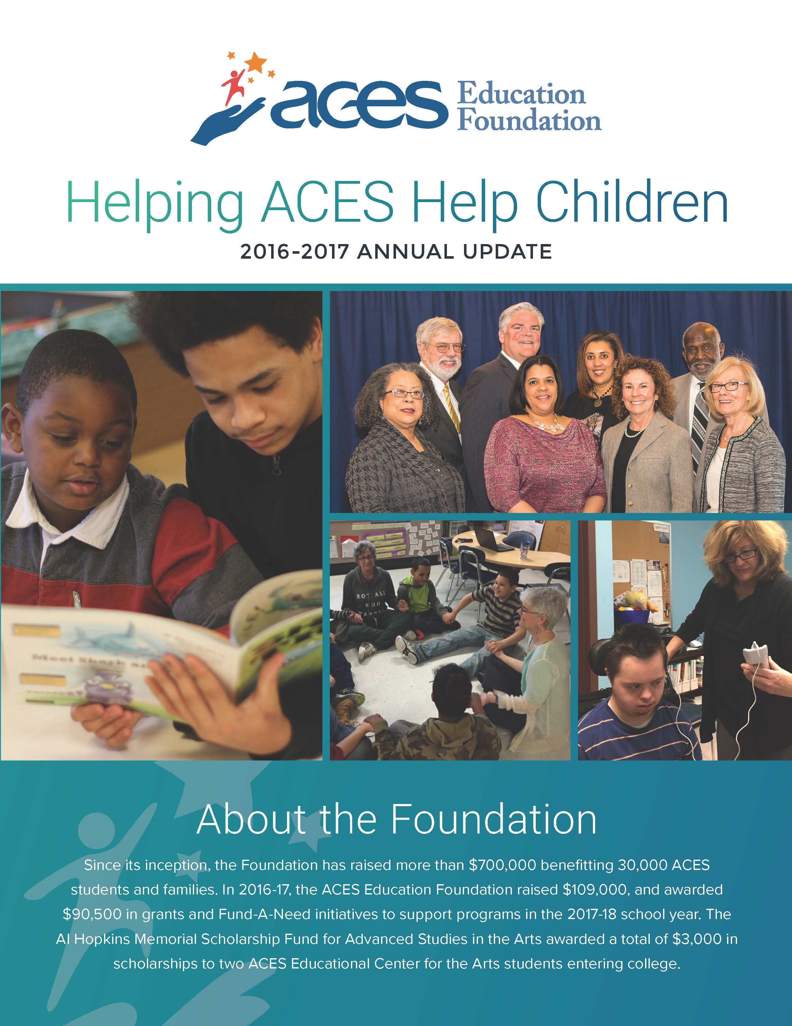 ACES Education Foundation 2016-17 Annual Report Page 1