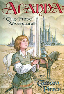 Alanna: the first adventure book cover