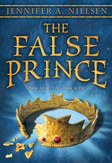 The False Prince book cover